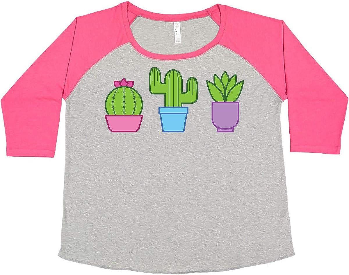 inktastic Cactus and Plants Plus Size Popular brand Ultra-Cheap Deals Women's T-Shirt