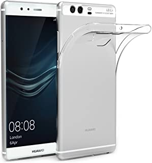 AICEK Funda Huawei P9, Huawei P9 Funda Transparente Gel Silicona Huawei P9 Premium Carcasa para Huawei P9
