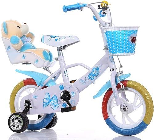 LHY RIDING Kinderfahrrad 12-Zoll-Fahrradwanderer Geeignet für Kinder über 3 Jahre Mit Spielzeug-Rücksitz