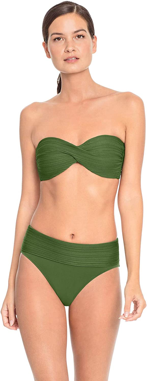Robin Piccone Women's Lily Bandeau Bikini Top