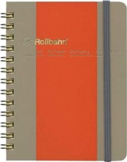 ロルバーン ポケット付メモ ビコロール Mサイズ【A/オレンジ×ベージュ】 500572-970