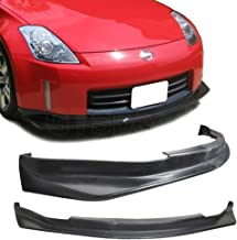 GT-Speed for 2006-2009 Nissan 350z Data/NS Style PU Front Bumper Lip
