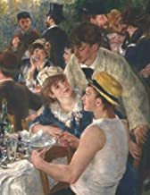 2021- 2022 Planner: Luncheon of the Boating Party| Pierre-Auguste Renoir| Extra Large 8.5in by 11in Monthly Diary Organize...