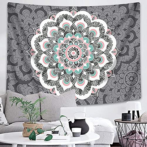 Tapiz de mandala indio colgante de pared tapiz bohemio manta de toalla de playa decoración de la pared del hogar tela de fondo A12 73x95cm