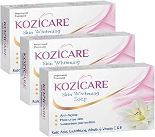 HealthVit Kozicare Skin Whitening Soap -75gm (Pack of 3)