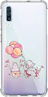 Suhctup Funda Transparent Compatible para Samsung Galaxy A01Carcasa Protectora [Antigolpes] Suave Silicona TPU Bumper Cojín de Aire de Cuatro Esquinas Protector Gel para Galaxy A01A15