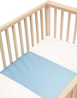 BO Babys Only Wei/ß Wickelauflagenbezug Sense 45x70 cm 80/% Baumwolle//20/% Polyester