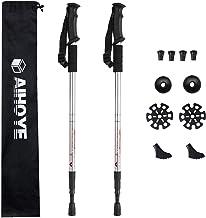 Aihoye Hiking Trekking Poles, 2 Pack Collapsible,Lightweight, Anti Shock, Hiking or Walking Sticks,Adjustable Hiking Pole ...