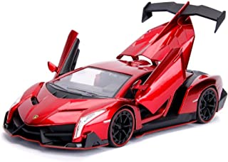 Jada 1: 24 Hyper-Spec - Lamborghini Veneno (Candy Red)