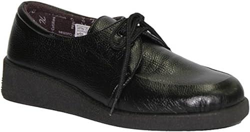 Zapato Cordones pies Muy delicados Doctor Cutillas en schwarz