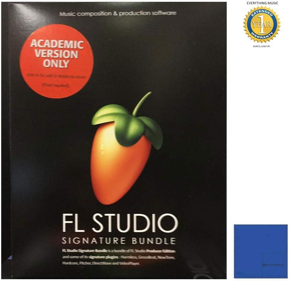 Fl Studio 20 Signature Genuine Free Shipping Atlanta Mall Edition Academic Boxed Teacher wi Student