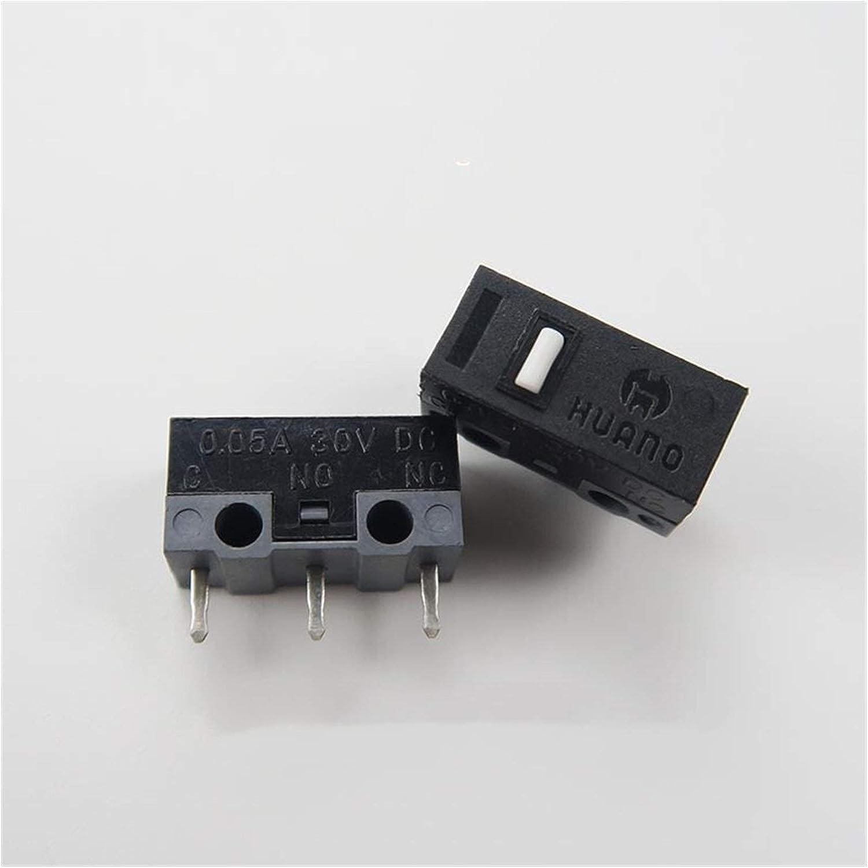 JSJJAET Micro Switch 100PCS Dealing full price reduction favorite Silv LOT Button Mouse