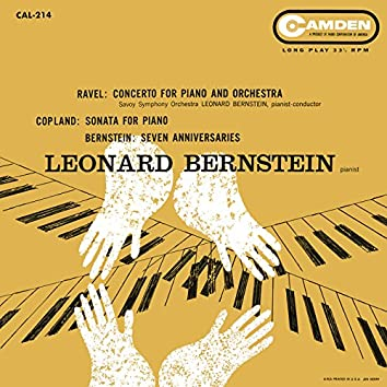 Ravel: Piano Concerto in G Major, M. 83 - Bernstein Seven Anniversaries - Coplan: Piano Sonata - Blitzstein: Dusty Sun - Bernstein: I hate music