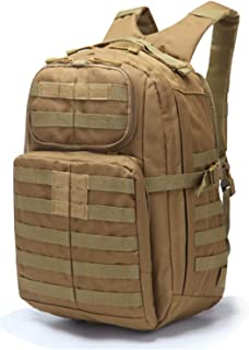 Multifunction Tactical Military Backpack, 45 Liter Large Capacity Molle Bag Rucksack Pack Outdoor Tactical Backpack Travel...
