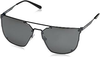 Arnette Men's Hundo-p1 Non-Polarized Iridium Square Sunglasses, Anthracite, 63 mm