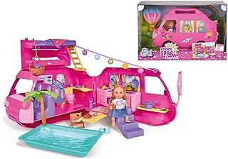Simba Evi Love Holiday Camper, Multi-Colour