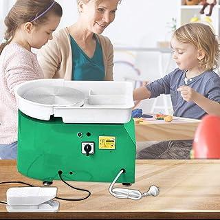 S SMAUTOP 350W Tour de Pottier, Machine en céramique 25cm avec kit d'outils de façonnage adapté aux opérations de poterie ...