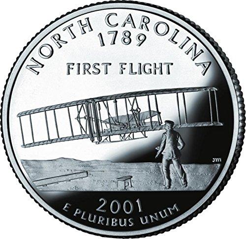 2001 P Bankroll of North Carolina Statehood Uncirculated