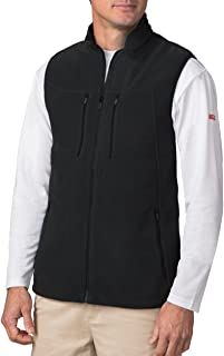 SCOTTeVEST Fireside Fleece Vests for Men - 15 Pockets - Warm Fleece Travel Vest