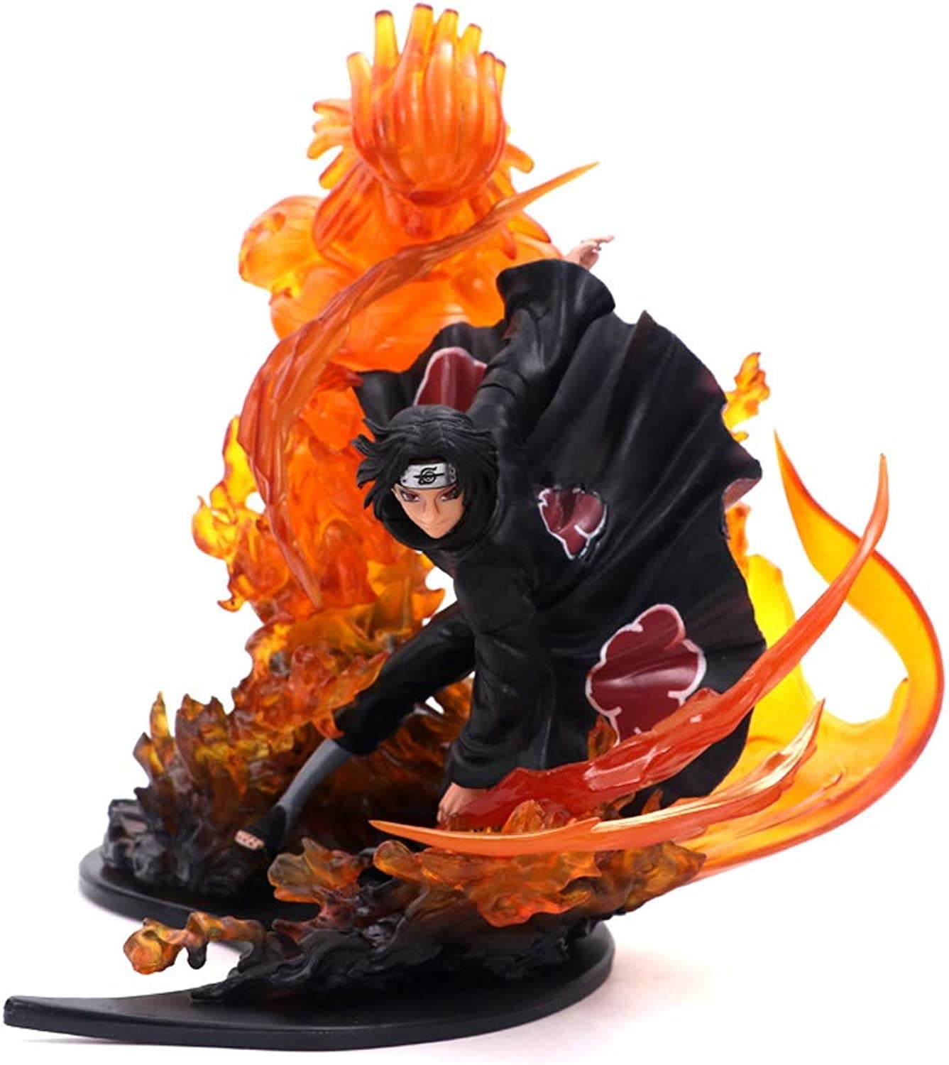 YXLZZO Anime Character Model Game Character Sculpture Boxed Statue Decoration About 21cm High Toy model (color   B)