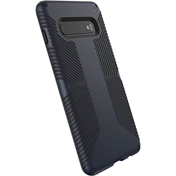 Speck Products Presidio Grip Samsung S10+ Case, Eclipse Blue/Carbon Black