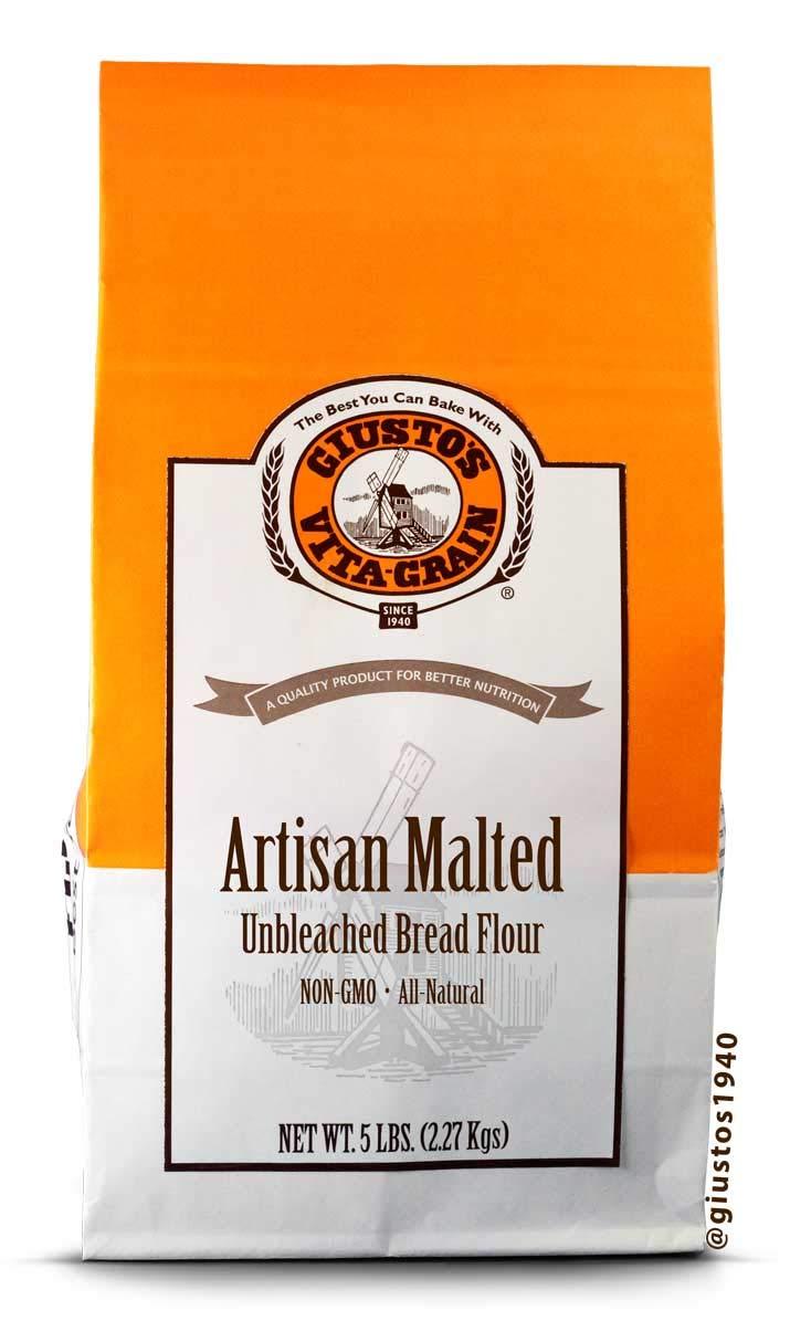 Giusto's Vita-Grain All-Natural Artisan Malted Unbleached discount All items free shipping Bread