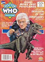 Doctor Who magazine back issue, 203 Invasion of the Dinosaurs - free postcards - your views on Doctor Who in the nineties