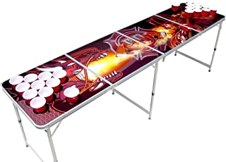 The Pong Squad Firefighter Vs Dragon Beer Pong Table