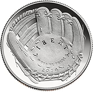 2014 S Commemorative Baseball Hall of Fame Half Dollar Proof US Mint