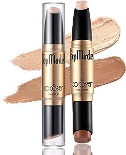 Maquillajes correctores Contouring Stick Doble Punta Pluma De Contorno Bronceador Y Barra De Resaltado Maquillaje Facial...