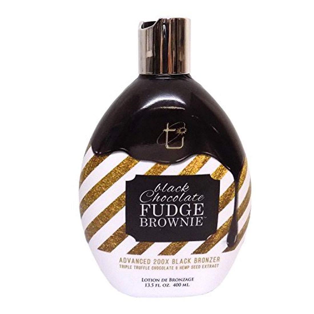 Brown Sugar BLACK CHOCOLATE Sacramento Mall FUDGE BROWNIE Black 200X Save money Bronzer 1 -