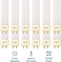 Viribright 2802 T8 Tube LED Lights Shop, 20W (40 watt Equivalent), 4000K, Single-Ended Power, G13 Base,Ballast Bypass-12, 4ft Lights-12 Packs, Cool White