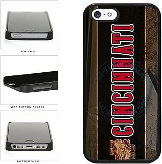 BleuReign(TM) Hashtag Cincinnati #Cincinnati Baseball Team Plastic Phone Case Back Cover For Apple iPhone 5 5s