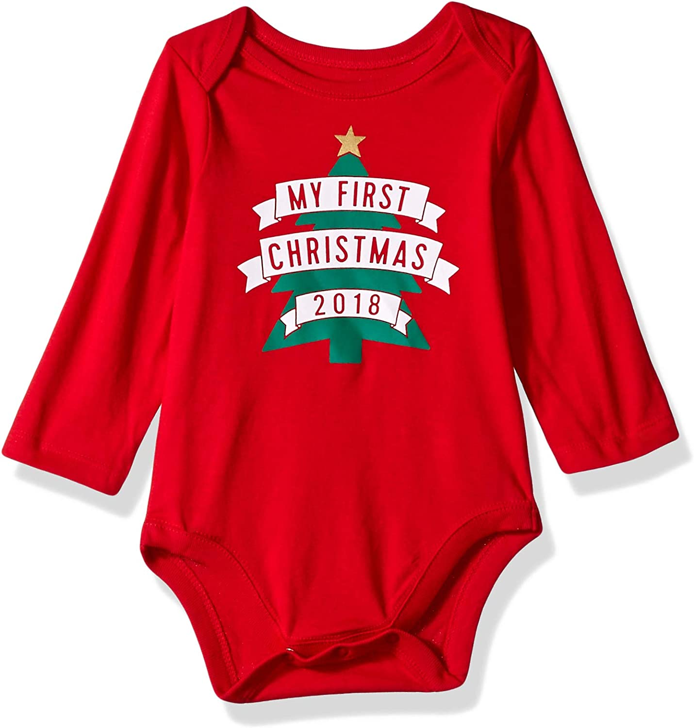 The Children's Place Baby Long Sleeve Graphic Layette