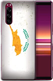 eSwish Gel TPU Phone Case/Cover for Sony Xperia 5 (2019) / Cyprus/Cypriot Design/European Flag Collection