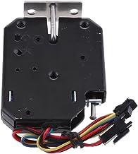 Almencla 12V 2A Mini Trava Elétrica de Golpe Magnético Fechaduras para Gabinete de Controle de Acesso à Porta