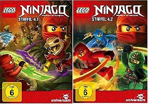 LEGO Ninjago - Staffel 4.1+4.2