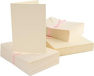 A6 Cards/Envelopes (100pk) - Cream
