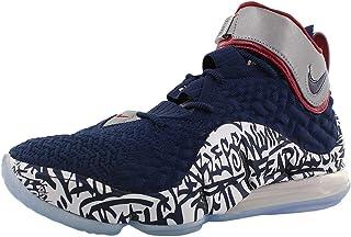 Nike Men's Shoes Lebron 17 Graffiti Remix Cold Blue CT6047-400