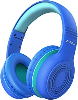 Mpow CH6 Kids Headphones for Baby to Teen, Switchable Volume Limited Safe Headphones w/Sharing Function for Children Boys Girls, Foldable Over-Ear/On-Ear Headset w/Mic for School/PC/Cellphone