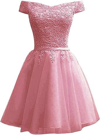 Amazon Com Oyisha Off Shoulder Junior Short Prom Homecoming Dresses 2021 Teen Formal Wedding Party Dress On101 Clothing