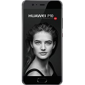 Huawei P10 Smartphone, Dual SIM, 4G, 64 GB, Negro/ Grafito: Amazon ...