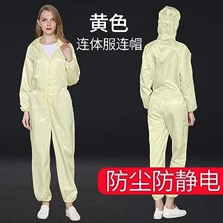 SHANGLY Riutilizzabile Tuta Protettiva Anti-Static Anti-Polvere Abbigliamento da Lavoro per lindustria meccatronica e la Produzione farmaceutica
