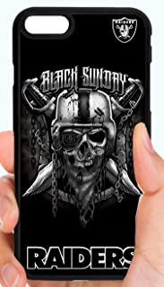 Raiders Skull Logo Black Sunday Football Phone Case Cover - Select Model