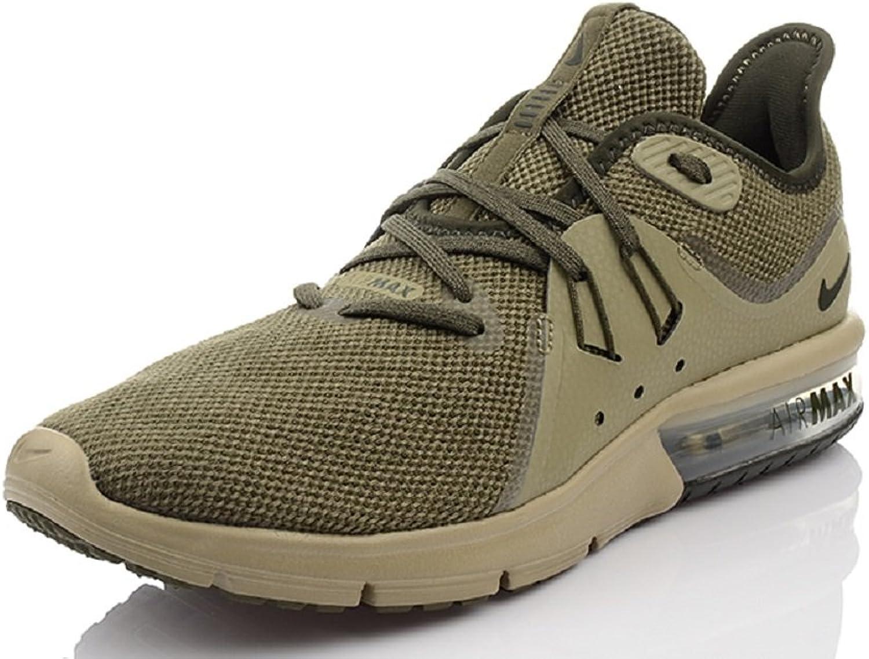 Nike AIR MAX Sequent 3 Herren Schuhe 921694-200 Grün Khaki B075ZXRN1Z  Bestseller