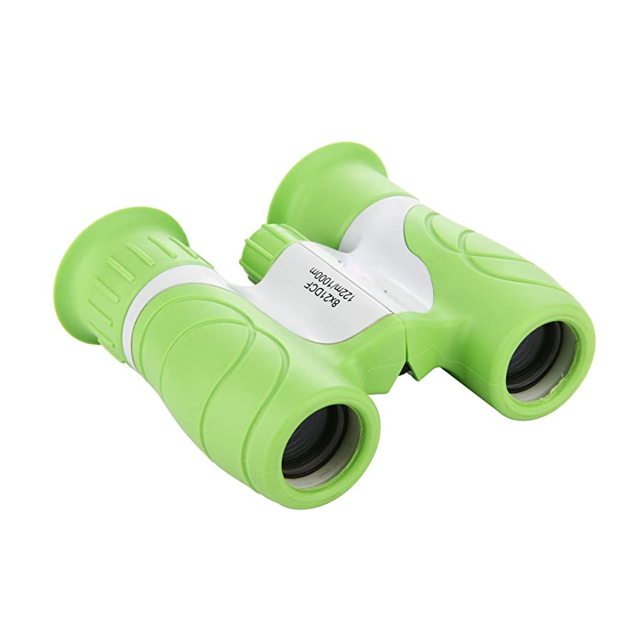 KKlove Kids Binoculars, 8x21 Binoculars for Kids Compact Binoculars Toy for Boys and Girls with High-Resolution, Best for Bird Watching,Hiking,Outdoor Games,Camping,Learning jgzoskmrudafm65
