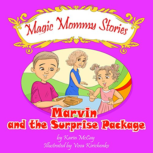 『Marvin and the Surprise Package』のカバーアート
