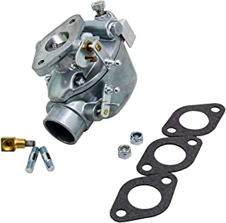 maXpeedingrods Carburetor for Ford Tractor NAA NAB Jubilee Golden Jubilee 600 700 1955-1957 with 134 CID Gas Engine EAE9510C