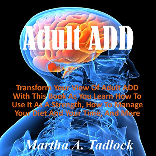 Adult ADD audiobook cover art