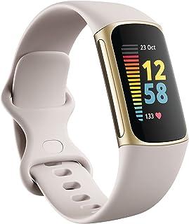 Aktivitetsarmbandet Fitbit Charge 5 med 6 månaders medlemskap i Fitbit Premium, upp till 7 dagars batteritid och Dagsform